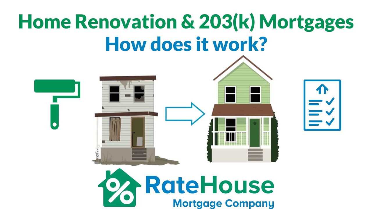 youtube home renovation 203k mortgages